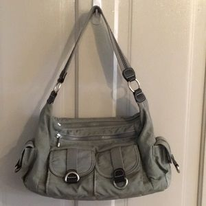 Olive gray Travelon bag
